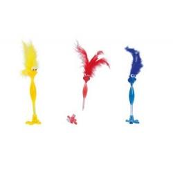 Bolígrafos rojo/azul/amarillo Birdie (precio unidad)