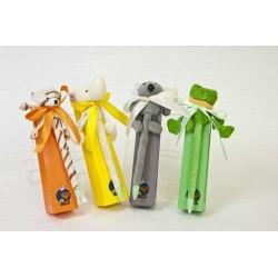 Bolígrafos peluche surtido con caramelos (precio unidad)