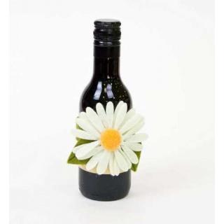 Botella de vino decorada regalos boda