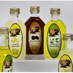 Licores 21510 (50 ml)  El sabor se deberá especificar en el campo de observaciones a la hora de finalizar el pedido.