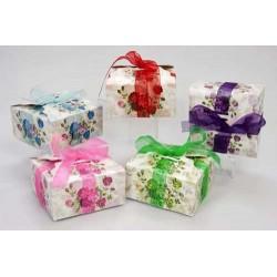 Cajas regalo lazos surt. 5 modelos