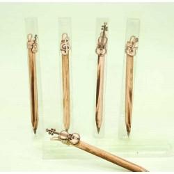 Bolígrafos instrumentos surtidos en caja acetato (precio unidad)