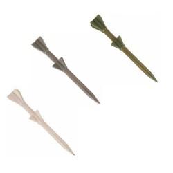Bolígrafos misil pulsador automático (precio unidad)