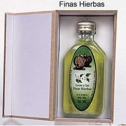 L. FINAS HIERB. 50 ML BOT. PLAST. PETACA EN CAJA MADERA