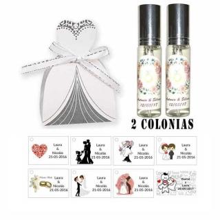 Colonias regalos de boda para invitados