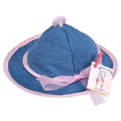 GORRO VAQUERO LAZO ROSA C/JABON