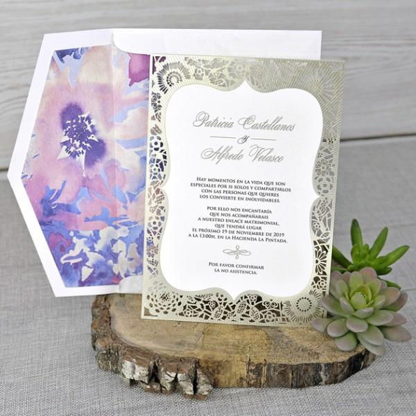 invitacin de boda diseo creativo