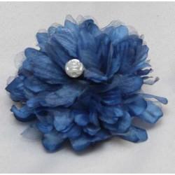 Tocado Azul con perla