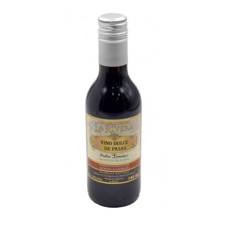 Vino dulce de pasas Pedro Ximénez 180 ML