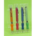 Bolígrafos surtidos craquelados en caja acetato (precio unidad)