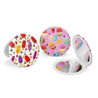 Espejo pastel y helados regalos de boda