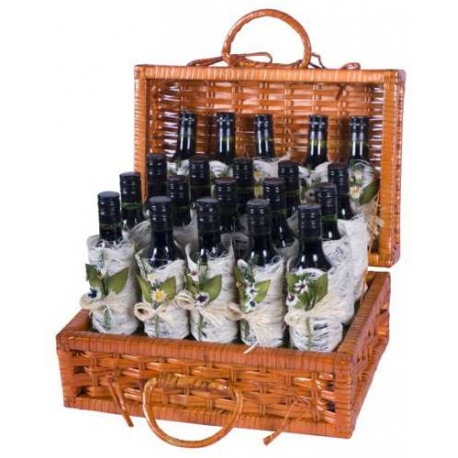 Maletin de botellas de vino para regalar