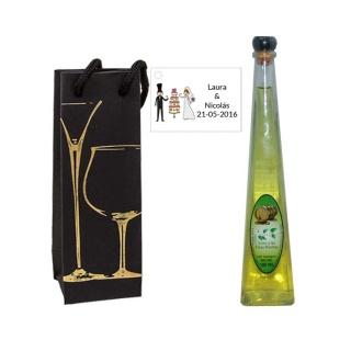 Lote regalo decorado licor de finas hierbas 100ML