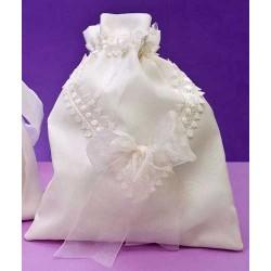 Bolso novia con encaje (precio unidad)