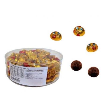 MARIQUITAS / PATITOS / FUTBOL BALL - CHOCOLATE CON RELLENO (1 Kg.)(Aprox. 160 Unds.)