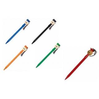 Bolígrafos niño graduación en colores azul o naranja (precio unidad)