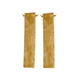 BOLSA DE TUL ABANICOS FLORES (7x28 cm.) (Paq. 100 Unds.)