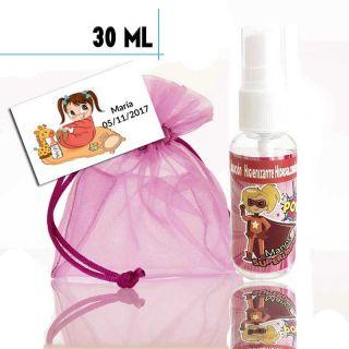 Gel Hidroalcohólico de Superheroina 30ml, con bolsa y tarjeta