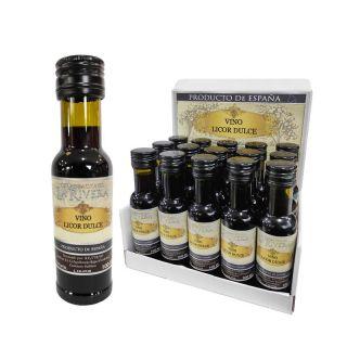 Botellita bordelesa de Vino de Licor Dulce de 100 ml