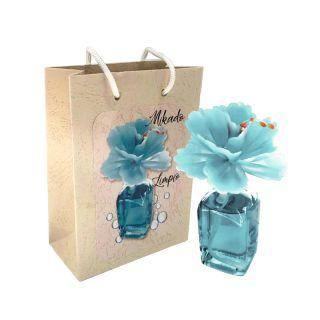 Ambientador Mikado en frasca, aroma limpio, incluye bolsa