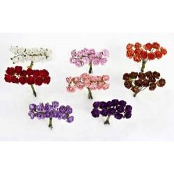 Bolsa 12 pomos 12 rosas pequeñas surtido =144