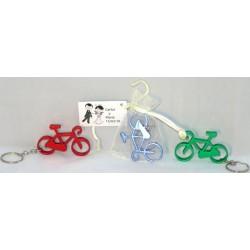 Llavero bici en bosa con tarjeta para regalo