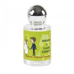 Perfumes personalizados recuerdos boda