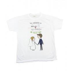 Camiseta personalizada para hombre