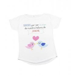 Camiseta personalizada para mujer