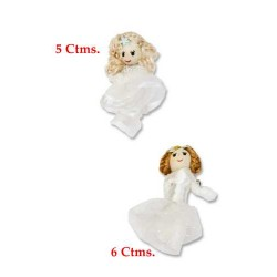 Muñeca Broche Tela 2 modelos surtidos