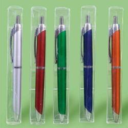 Bolígrafos en caja de acetato (precio unidad)