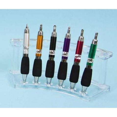 Bolígrafos grueso 6 colores (precio unidad)