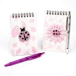 libretas con bolígrafo regalos invitados