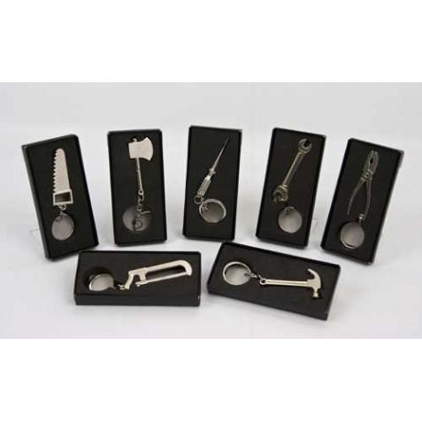 Llavero de herramientas surtidas presentado en cajita ideal como regalo