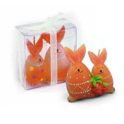 Velas de conejitos marrón (precio unidad)