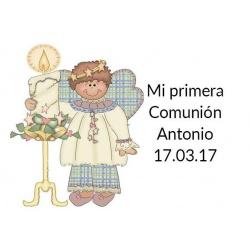 tarjeta original para comunión