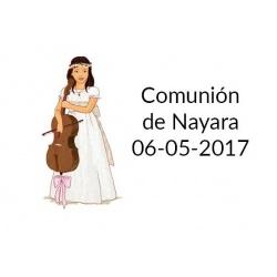 tarjeta para comuniones original