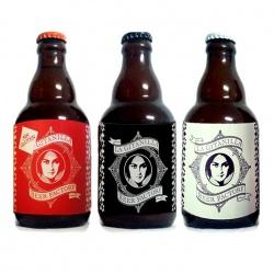 Surtido de cervezas (La Siega sin glúten, Indian Pale Ale y La Cordobesa)