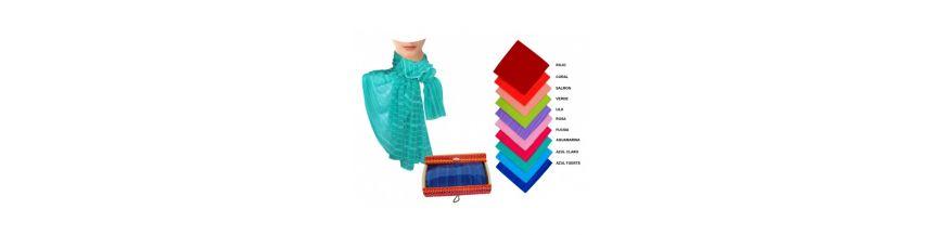Packs pañuelos y pashminas para mujer